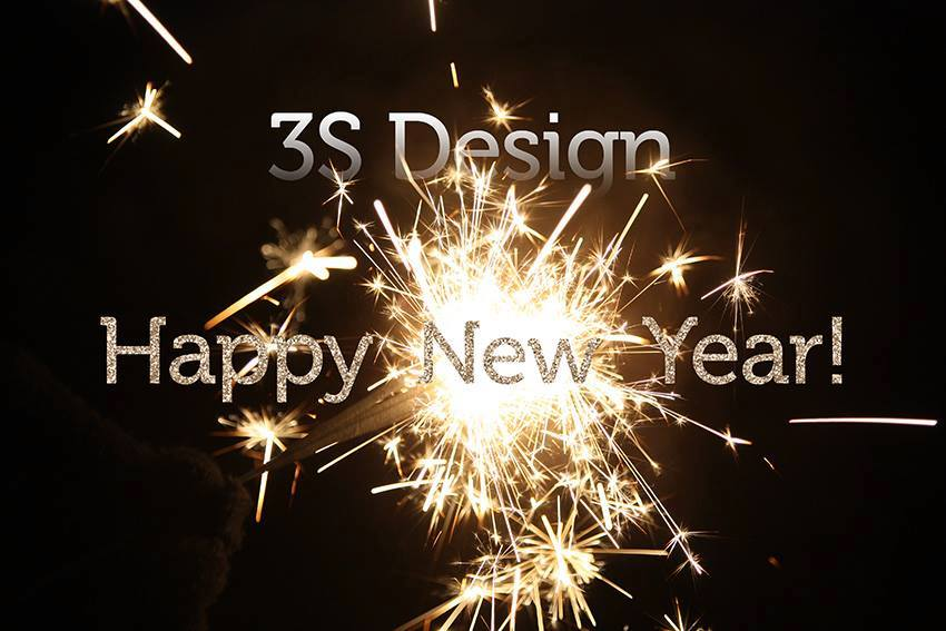Happy New Year, 3S Design